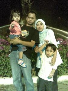 Syirfan I.M.s, Zalina Maizan, Putera Syahmi Zafran dan Puteri Syahmina Zafirah