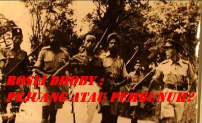 Rosli Dhoby ditangkap sejurus berjaya menikam Sir Duncan Steward, Gabenor General British Sarawak yang ke-2